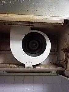 換気扇レンジフードクリーニング Before