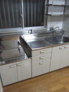 キッチンまわりクリーニング 広島 ハウスクリーニング