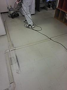 会社 事務所 床洗浄ワックス
