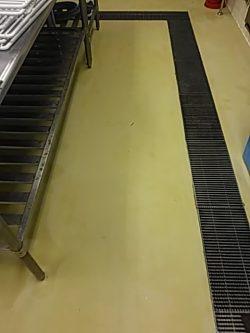 店舗 厨房クリーニング(床) 広島