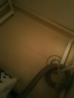 ハウスクリーニング 広島 洗面所(洗濯機置き場 / 防水パン)