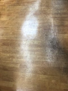 店舗 床洗浄ワックス 広島県廿日市市