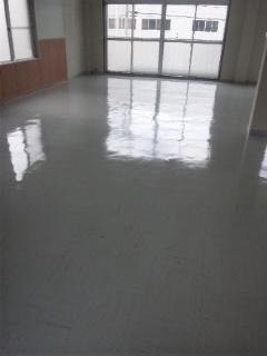 床洗浄ワックス 広島