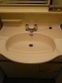 ハウスクリーニング 広島 洗面台クリーニング